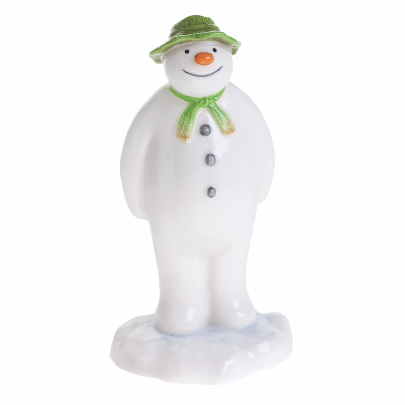 Raymond Briggs The Snowman Christmas Tree Decorations: The Snowman In The Garden By Beswick