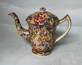 Chintz Teacup & Saucer